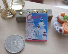 dollhouse magazine christmas cookies 12th by Rainbowminiatures
