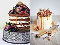 FESTIVAL BRIDES | Drizzled Divine – The New 2015 Wedding Cake Trend
