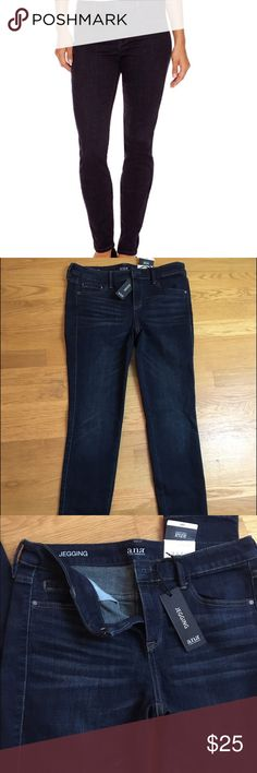 """Ana dark wash jeggings NWT 27/4 Beautiful pair of jeggings in the color """"dark paradise."""" Jeggings pair well with anything, from tees to oversized sweaters, and look amazing with sneakers or boots. A true closet staple during any season. New with tags, never worn. Questions and offers welcome! Ana Jeans Skinny"""