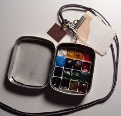 A Wearable Watercolor Paint Box