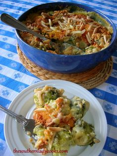 Ritzy Brussel Sprouts From the Southern Lady Cooks
