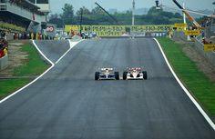 Nigel Mansell & Ayrton Senna - Spain (1991)