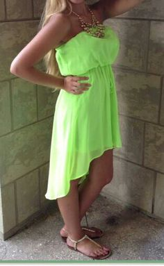 Neon dress♡