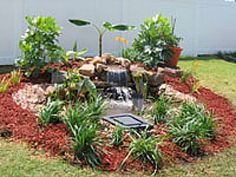 Small Backyard Ponds and Waterfalls | Backyard Waterfall Can Be The Showpiece Of Your Outdoor Living Area