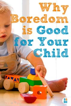 "Next time you hear ""I'm bored!"", don't be too quick to entertain your kids—boredom has its many benefits. Here's why boredom is good for your child."