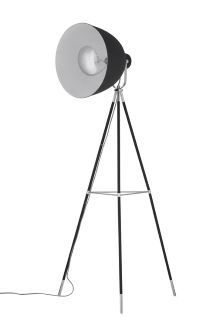 Islington Studio Black And Chrome Tripod Floor Lamp