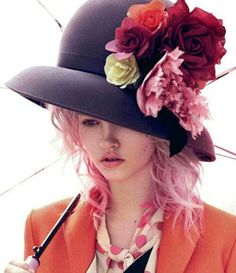 Flower hat'