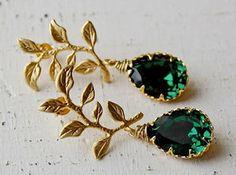 https://www.bkgjewelry.com/multi-gemstone-ring/708-14k-yellow-gold-diamond-multi-gemstone-elephant-ring.html Emerald Earrings by Mikiye Creations