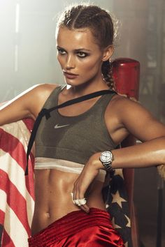 """Chic Boxing,"" Vogue Paris, 2012-04; Edita Vikeviciute (Lachlan Bailey)"