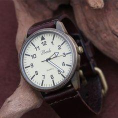Men Watch Leather Men Wrist Watch by ChaiShop on Etsy