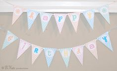 bnute productions: It's a Doll Sized Birthday Celebration! (Including Free Printable Banner and Goodie Bags)