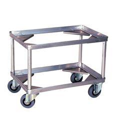 GTARDO.DE:  Behälter-Fahrgestelle aus Leichtmetall, Tragkraft 200 kg, Ladefläche 642x424 mm, Ladehöhe 440 mm 211,00 €
