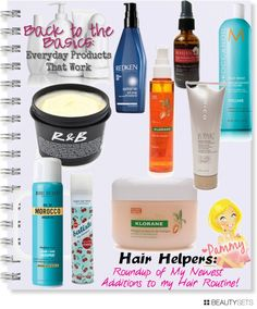 Back to the Basics: Hair Helpers! These are my current top favorites for Hair! :) Read more here: http://www.pammyblogsbeauty.com #hair #bbcoalition #bbloggers