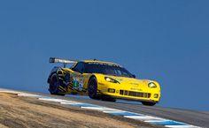#4 Corvette C6.R qualifies 2nd for the ALMS Monterey at Laguna Seca.