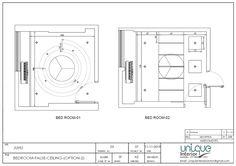 Design Discover new false ceiling design 2020 Interior Design Presentation, Ceiling Plan, False Ceiling Design, How To Plan, Dividers, Architects, Behance, Antique, Pop