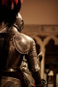 Not just an armor nor just a knight