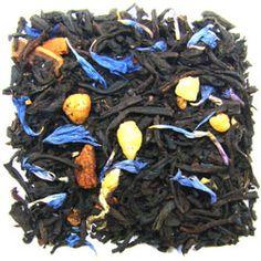 PLEINE LUNE®   Thé noir parfumé   Inspiré de l'astre lunaire, royaume des rêves et des chimères, ce thé poétique réunit les parfums symboliques de la fête de la pleine lune:  un thé noir, des fruits exotiques, des agrumes, des épices rares autour de clous de girofle, des amandes et le goût sucré du miel.   Un thé qui transporte comme un plein ciel.