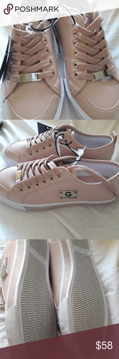 457441a9813 G by Guess pink leather sneakers G by Guess pink leather sneakers in size 7  G