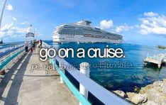 CHECK!  Took the Carnival Glory to the Eastern Caribbean for 7 days (11/14-11/21/15).
