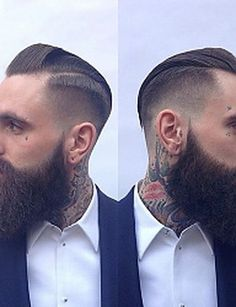 Krótkie męskie fryzury 2015