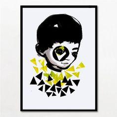 Bob Noon Boy er en illustration uden ramme fra Bob Noon som er nummereret og signeret af kunsteren bag værket. Bob Noon er et kreativt kunstkollektiv i København. Nem og sikker handel.
