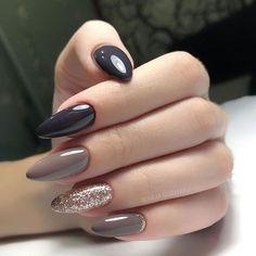 Discover new and inspirational nail art for your short nail designs. Stylish Nails, Trendy Nails, Cute Nails, Short Nail Designs, Nail Art Designs, Wedding Nail Polish, Image Nails, Almond Acrylic Nails, Short Nails Art