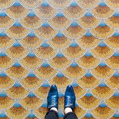 German photographer Sebastian Erras' Instagram account focuses solely on parisian floors at @parisianfloors.