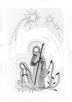 mis cosas hasta 2.011 - mdstfrnndz - Picasa Web Albums Bobbin Lace Patterns, Crochet Doily Patterns, Tatting Patterns, Doilies Crochet, Paper Embroidery, Embroidery Dress, Vbs Crafts, Lacemaking, Theme Noel