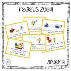 Kleuterjuf in een kleuterklas: GROEP 3 | Regels zoem Lego Friends, Place Card Holders, Teaching, Seo, Babyshower, Classroom Ideas, Google, First Class, Shower Baby