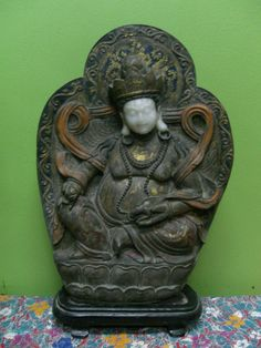 Jade Yellow Jhambala Tibetan God of Wealth. Ming Dynasty China. From  Lau  Legacy  Malaysia  Collection.