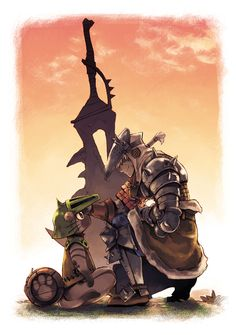 Monster Hunter Hunter and Palico