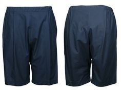 the dark blue unisex COSY II shorts out of 100% organic cotton by format available at WESEN