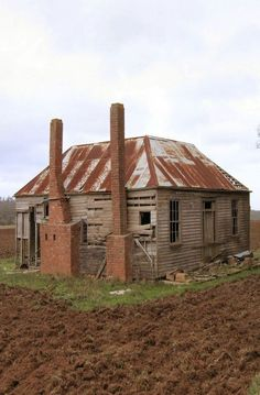 Old Two Chimney Farm House