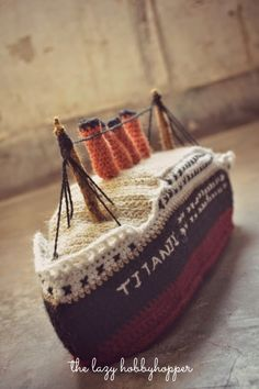 crochet titanic Link Love for Best Crochet Patterns, Ideas and News