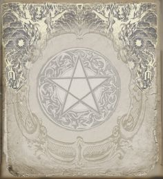 Witchcraft Enchantress page by Grim, scrapbook, art journal, Book of Shadows