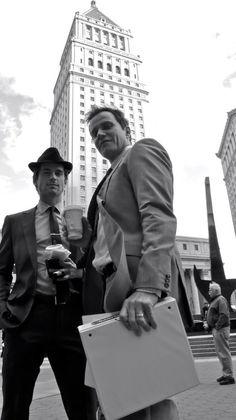 Matt Bomer and Tim DeKay White Collar