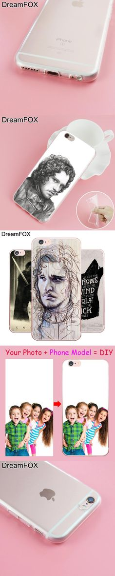 L241 Snow Game Of Throne Soft TPU Silicone  Case Cover For Apple iPhone X 8 7 6 6S Plus 5 5S SE 5C 4 4S