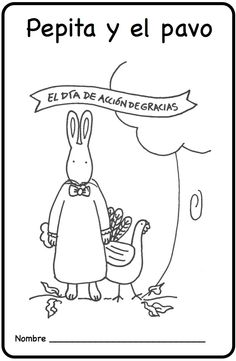 Spanish thanksgiving vocabulary coloring pages for Beatrice doesn t want to coloring page