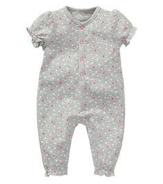 newborn meisjes jumpsuit - HEMA
