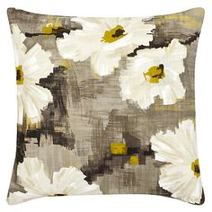 Buy Grey Harlequin Giverny Cushion from our Cushions range at John Lewis & Partners. Wallpaper Companies, Cushions Online, Soft Furnishings, Monet, Home Interior Design, Mid-century Modern, Bedrooms, Room Ideas, Mid Century