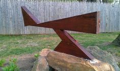 Scrap wood creation.