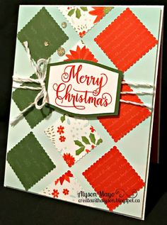 Create with Alyson: Holiday Expressions New Product Blog Hop