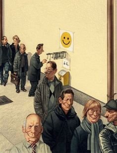 31 Satirical Illustrations By Gerhard Haderer Show What's Wrong With Today's Society