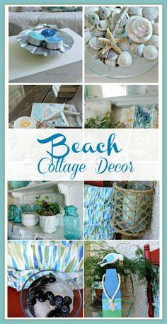 Beach Cottage Decor-Waterside Blog Tour #whatmeeganmakes #cottage #beachcottagestyle