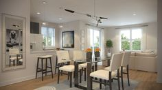 Velocity in Harbour Landing is a new condo community located in Regina's beautiful Harbour Landing New Condo, New Community, Open Layout, Modern Living, Living Area, Landing, My House, Layouts, Bright