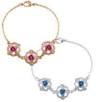 Sparkling Roses Bracelet