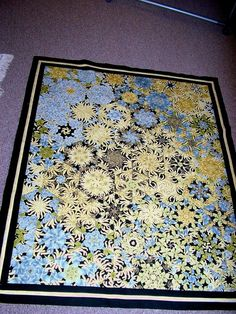 One Block Wonder quilts. If I had to make a quilt, I would want to make one like these.