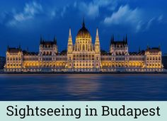 Sightseeing in Budapest - my top sights in Hungary's capital including Buda Castle, Chain Bridge, the Hungarian Parliament Building, Heroes' Square and more. | www.kaffeeundkuchen.co