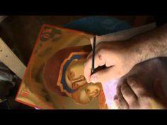 Patrizia Grimaldi shared a video Byzantine Icons, Painting Videos, Religion, Youtube, Book Binding, Tips, Art, Pintura, Art Background