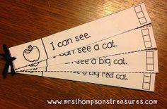 http://www.teacherspayteachers.com/Product/Fluency-Strips-Interactive-Notebook-Sight-Words-CVC-1414604